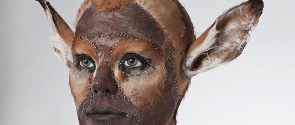 人面兽身雕塑,人性与兽性的交织 | Kate Clark