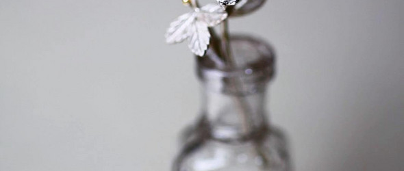 以金银表达对于自然的热爱 | 日本金工匠人吉田 史作品精选