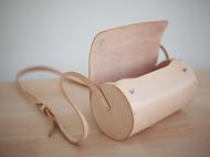 f2studio2015夏季新款真皮女包斜跨包植鞣牛皮手提单肩包 圆桶包