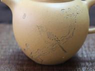 宜兴紫砂壶 原矿段泥 精致刻绘