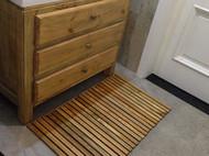 日式MUJI实木地垫脚垫房门口地垫防滑垫卫生间隔凉垫