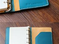 手缝牛皮手帐 旅行手帐笔记本 notebook