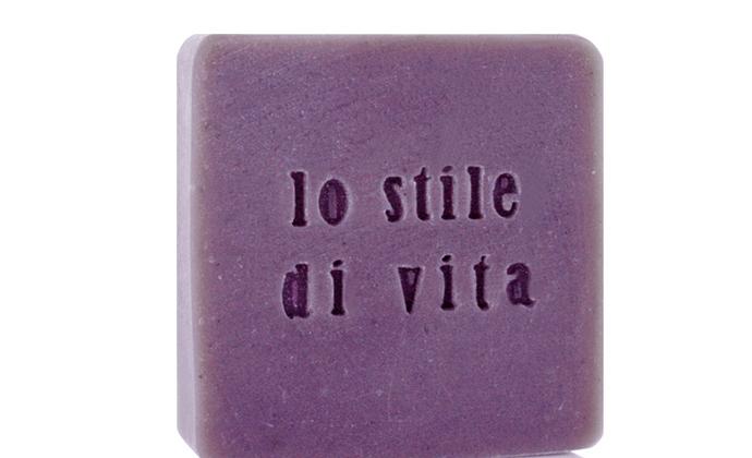 LO STILE DI VITA生活哲学意大利薰衣草水凝调理手工皂正品