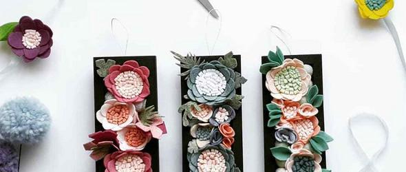 不织布的花花世界,美丽与可爱并具 | Giedra Bartas