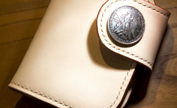 硬币扣短夹