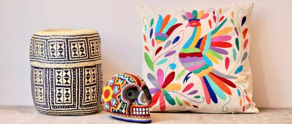 P.I. Project | 墨西哥传统手工艺品转化为时尚家居产品