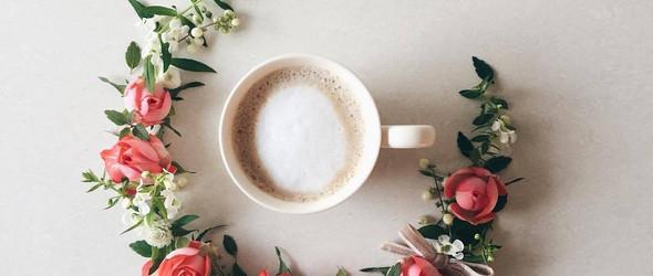 生活,每天都要花,要有咖啡:日本生活家 sawa 的鲜花咖啡视觉日记