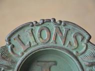 Vintage烟灰缸 老铸铁 老工业