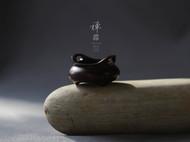 柒言原创-手工茶桌摆件可定制-印度小叶紫檀宣德炉 桥耳香炉 香具