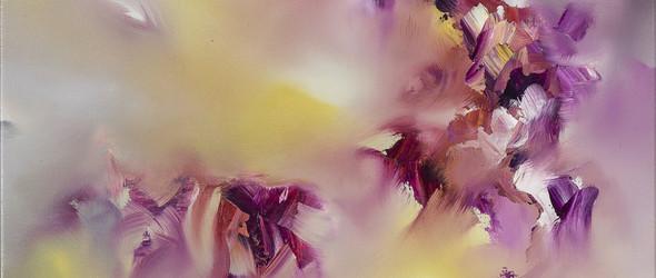 艺术家 Melissa McCracken 以动感的油画描述音乐的旋律与色彩