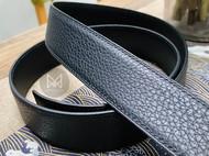 荔枝纹手缝皮带