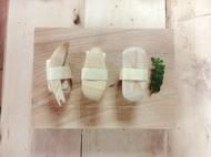 木纹之美——木寿司和荷包蛋