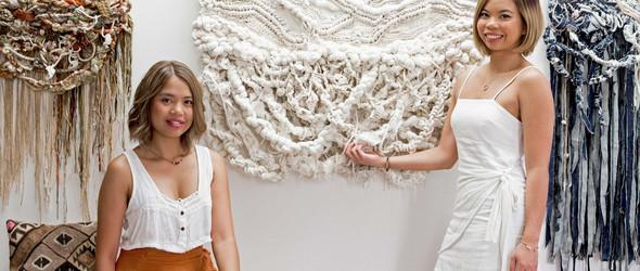 零浪费带来的繁复美学 - 澳大利亚纺织工作室 Crossing Threads 的美丽挂毯
