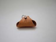 f2studio原创 日系 复古手工钥匙扣头层植鞣皮真皮硬币包 零钱包