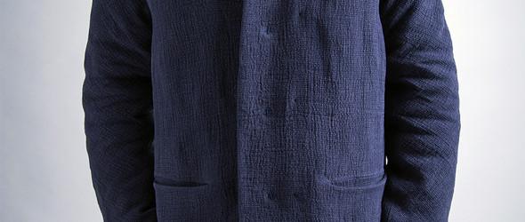 一件真正用手工棉胎做里的棉袄