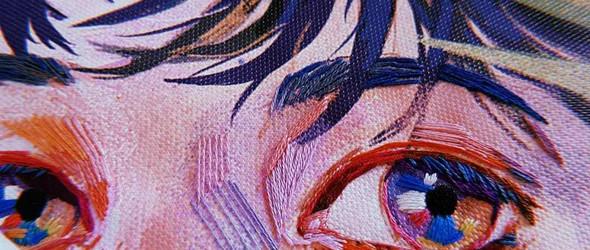 刺绣肖像 - 韩国刺绣设计师Acupictura 作品