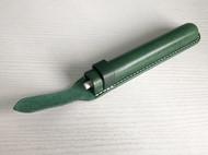 手工植鞣牛皮革笔袋单支装真皮钢笔套宝珠笔保护套简约圆珠笔收纳