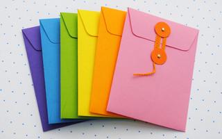 DIY蝴蝶装纸封