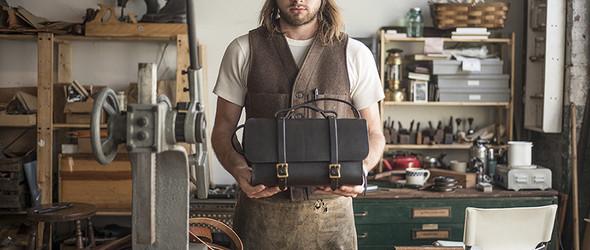 美国皮革匠人Will Lisak 与手工皮具品牌 Etwas