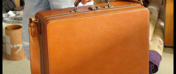 Designer Leathers GO 制作工程 -建築家鞄制作过程