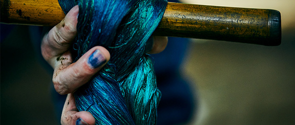 拍摄日本纺织品的故事   Shinya Sato