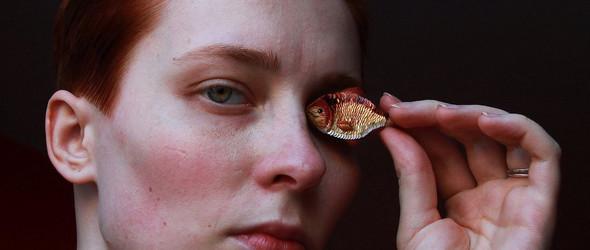 绣出来的迷你小世界 - 俄罗斯手工艺人 Eira Teufel 的微型刺绣艺术