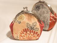 漫与手工 :福年暖货-8.5cm口金零钱包 暖菊小荷包