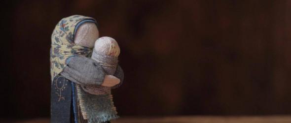 以俄罗斯娃娃展现女性命运的复杂性 |俄罗斯艺术家 Yana Volkova 手工制作的斯拉夫娃娃