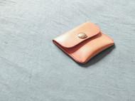 原色植鞣皮小钱包