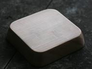 良造木器 手作红樱桃木方盘 木角箱 木茶盘 拙造木托盘