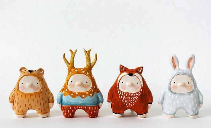 治愈系童话系列-森林密语原创手工设计摆件家居饰品-可作为生日礼物、礼品