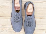 手工男鞋 中国风真皮休闲鞋