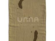 unna酝罗_藻鱼纹_天然植物染 纯棉方巾 草木染 手帕 围巾 长款 33*88