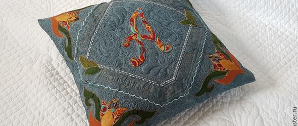布艺DIY:拼布与绗缝结合,制作精致的手工靠垫