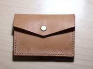 手工植鞣革卡包(名片包)和零钱包