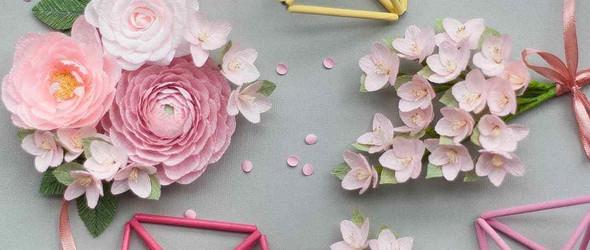 清新而多彩的手工纸花 | Floriya