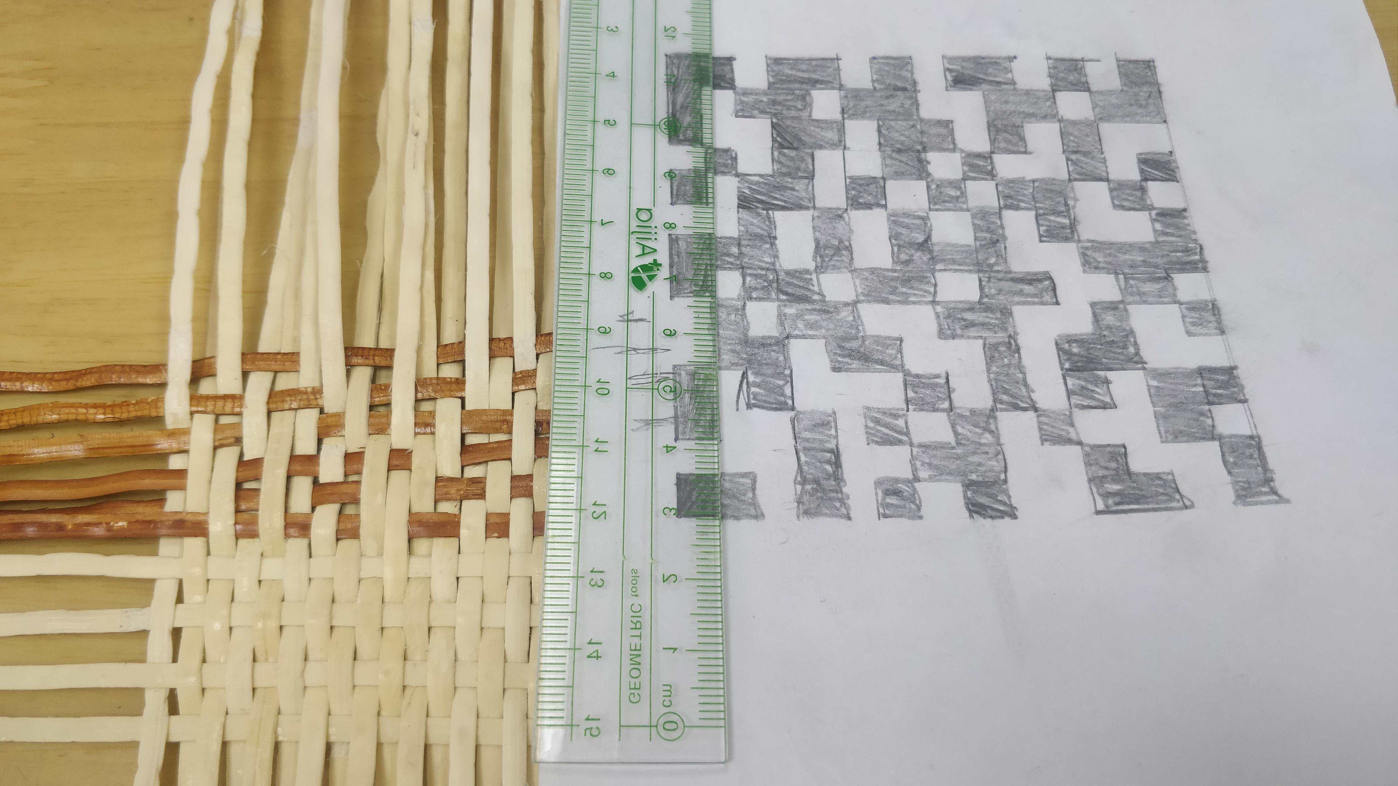 手工编织二维码制作教程