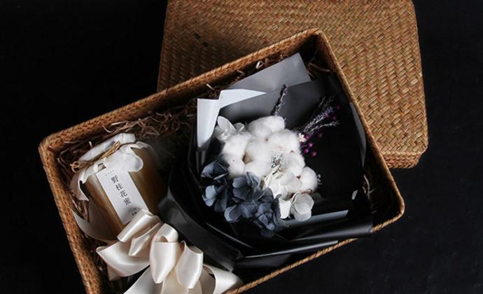 风趣农家蜂蜜 进口永生棉花 福建特产 送朋友花礼