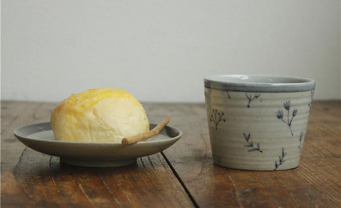 【八九燕来】绛珠草  咖啡杯水杯马克杯碟