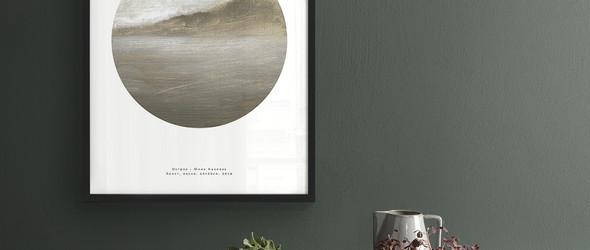 斯堪的纳维亚风家居装饰画 | vizhu kita