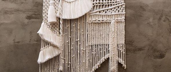 民族风的Macrame编织挂毯 | Cocaindia