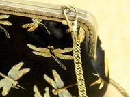 手工真丝刺绣文艺VINTAGE民族古董包旗袍宴会手拿高档口金包礼物