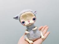 羊毛毡萌萌兔&手工万圣节小怪物