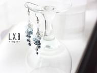 【LXB私人设计】气质 长款 水晶 流苏耳环 现货