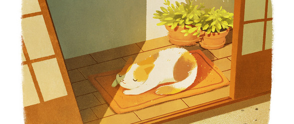 温暖的奇幻之旅:插画师Bao Luu作品