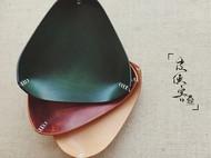 皮侠客PXK- 三角收纳盒/置物盒 意大利植鞣革 手工染色缝制 多色可选