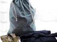 【甲】剑道服收纳袋/手工定制日本和风衣物收纳袋