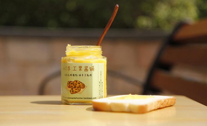 【小C的纯手工果酱】自制无添加 柠檬凝乳抹酱 清爽又馥郁芳香