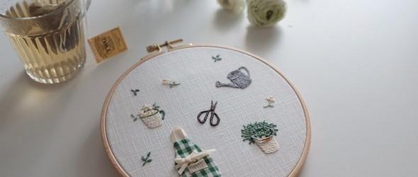 带着烟火气息的生活刺绣 | alors embroidery