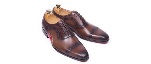定做结婚皮鞋-角度订制量脚定做皮鞋
